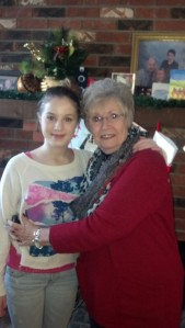 Boni and her grandmother going to see The Nutcracker and making Christmas memories.