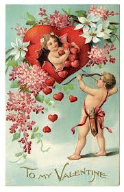 A Vintage Valentine's Day Card