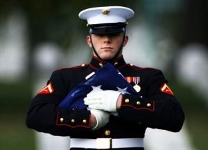 A marine