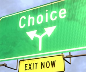 choice sign